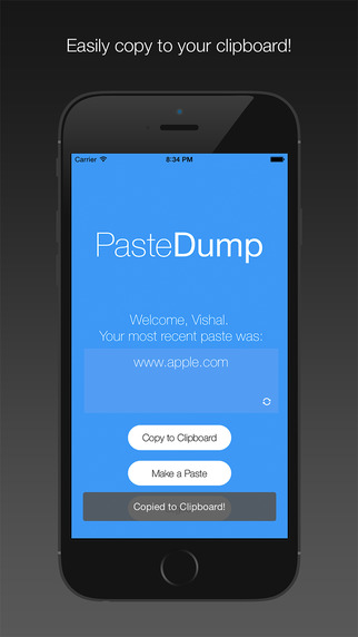 Paste Dump