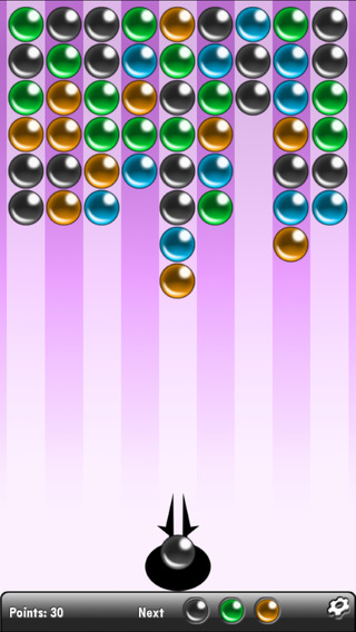 ALL-IN-1 Bubbles Gamebox iPhone Screenshot 3
