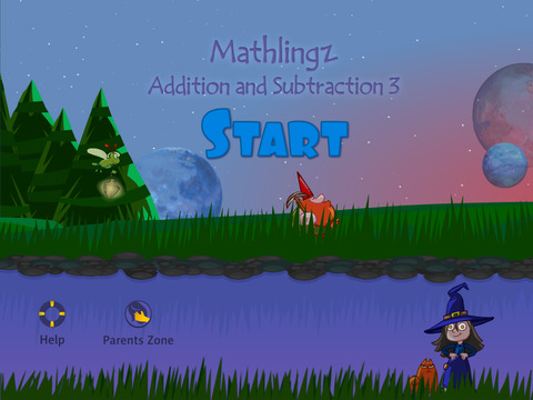 Mathlingz Addition and Subtraction 3 - Fun Educational Math App for Kids Easy Mathematics