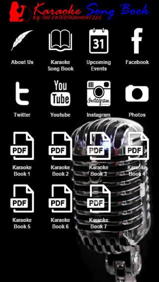 TDC Karaoke Song Book