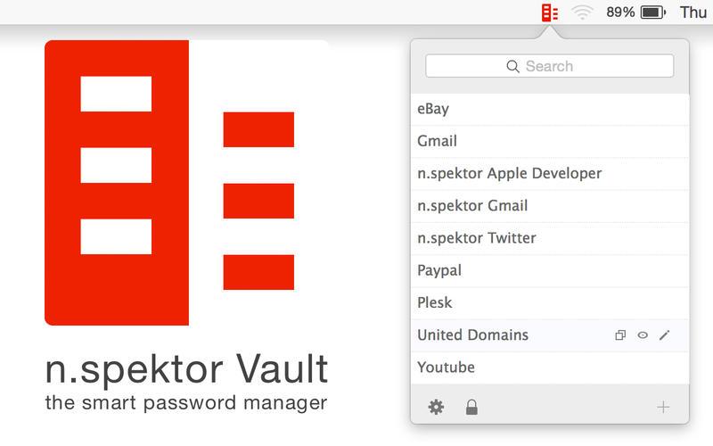 Vault Password Manager - 密码管理器[OS X]丨反斗限免
