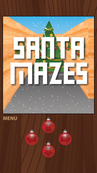 Santa Mazes