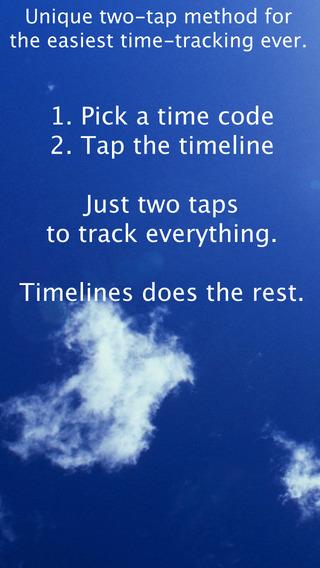 TimeLines iPhone Screenshot 2