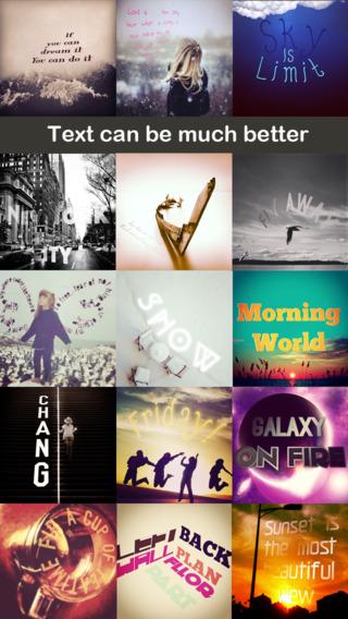 字言字语 - 为图片加入特效文字[iOS]丨反斗限免