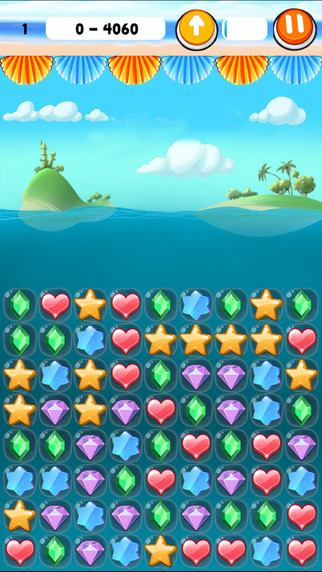 Candy Gems Sea Pop