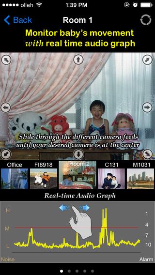uBabyCam with AV recording