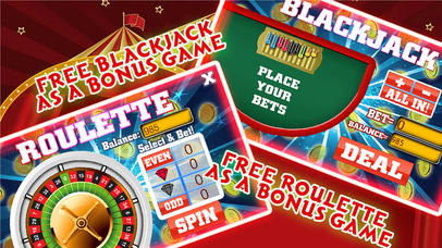 A A+ Slots in Circus - Play with exotic circus animals and Win Ace King Golden Bonanza-2
