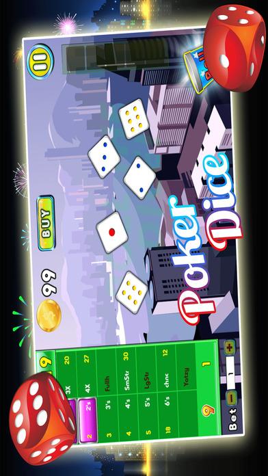 Screenshot 3 Yatzy Downtown Metro — Высокая Ставка деньги, чтобы богатства