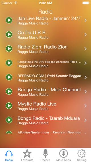 Ragga Music Radio Recorder