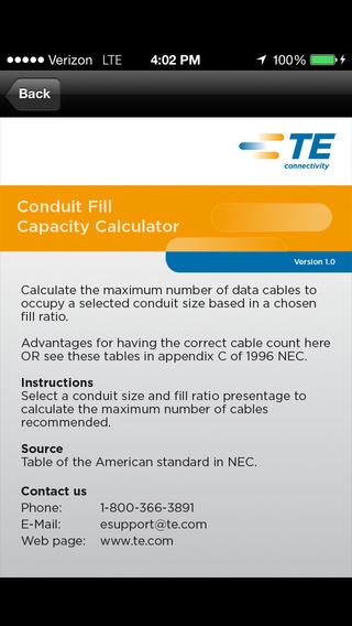 Conduit Fill Capacity Calculator