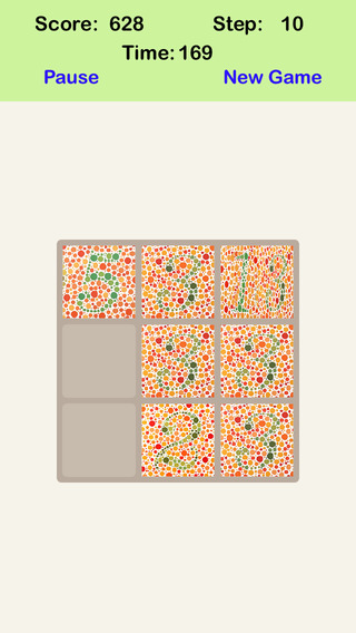 A¹A Color Blind Fibonacci 20 20 - Sliding Number Tiles LookSee Your Success