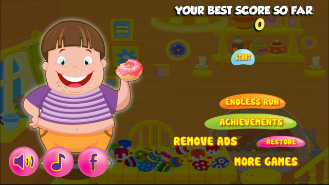 Sweet Candy Fat Boy Adventure - Epic Gummy Jumping Saga FREE