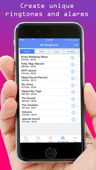 Ringtone Maker for iPhone iPad - Free Ringtones Collection