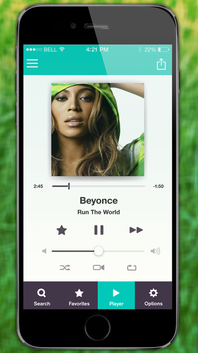 Screenshots of Free Music for iPhone Plus - Play Mp3 Songs & Youtube Albums for iPhone