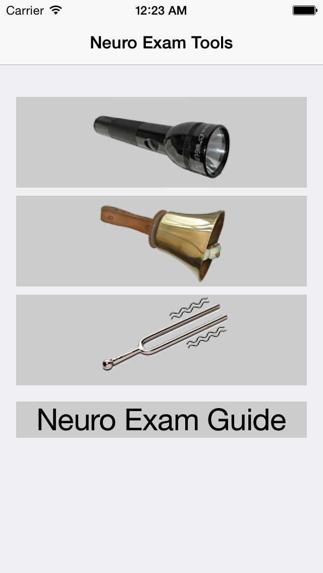 Neurology Exam Tools