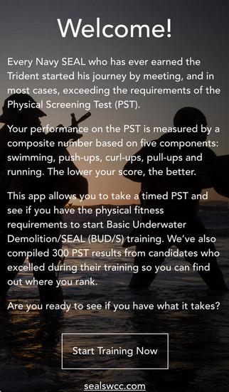 Official Navy SEAL Training App