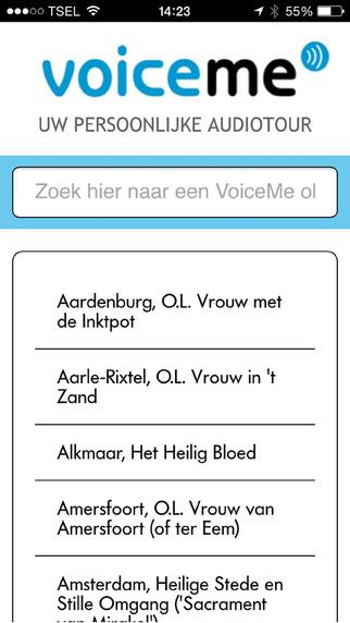 Voiceme Audiotour