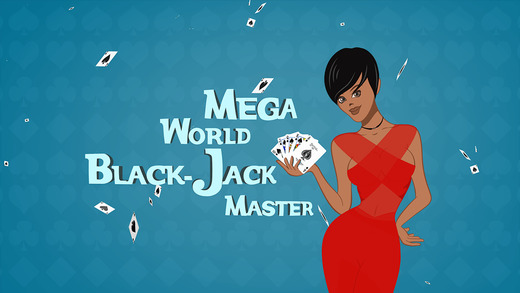 Mega World BlackJack Master - New Live card gambling table