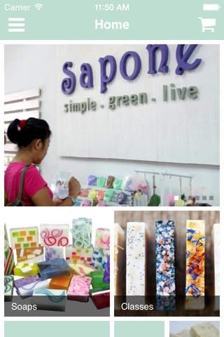 SAPONE screenshot 1