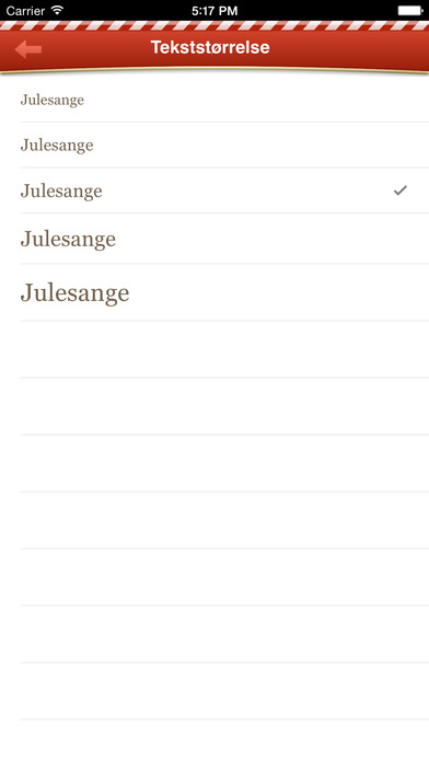 Julesange iPhone Screenshot 3