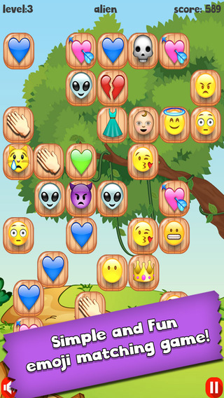Emoji Bubble Pop - Cute Emoticon Art Tap Matching