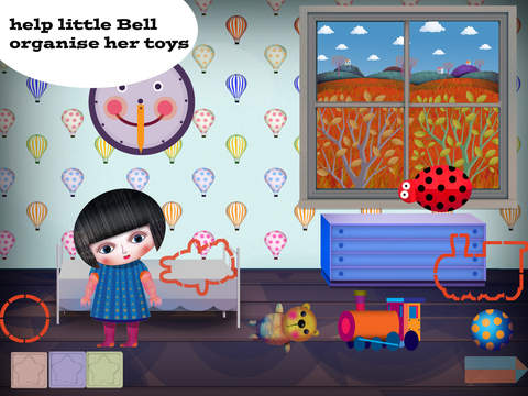 Little Bell - minimalistic dreamy and delightful game for your child