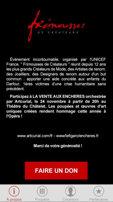 Unicef - Frimousses de Créateurs iPhone Screenshot 2