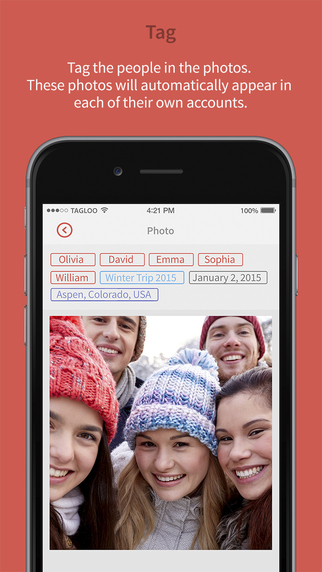 Tagloo - Store organize and share your photos