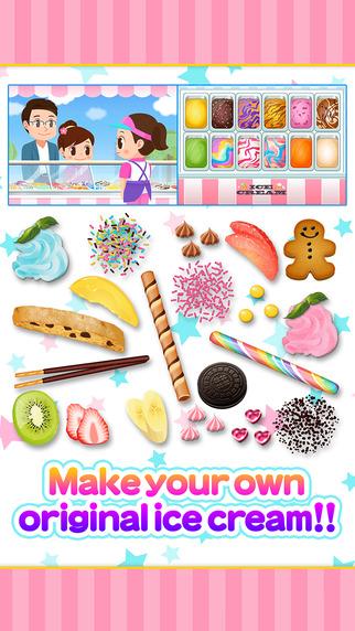 Let's do pretend Ice-cream shop - Work Experience-Based Brain Training App