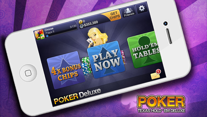 Texas HoldEm Poker Deluxe - iPhone Mobile Analytics and App Store Data