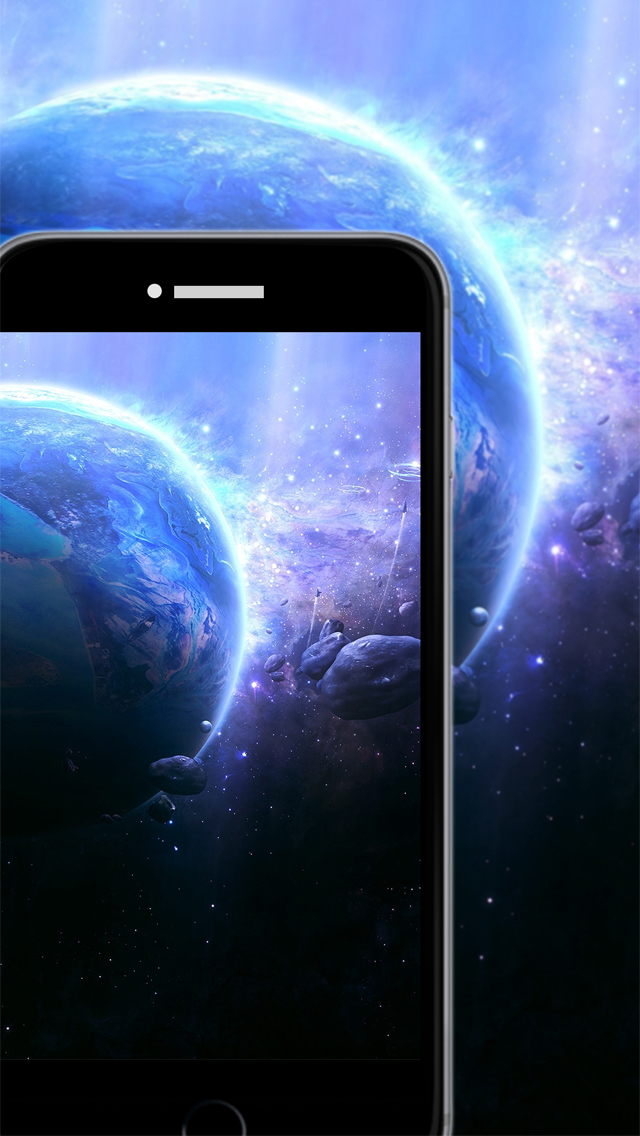 Galaxy space wallpapers backgrounds custom home screen for Galaxy maker