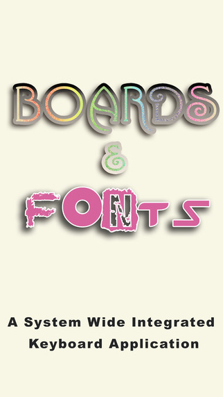Boards Fonts