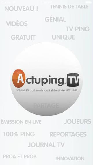 ActupingTV Tennis de Table