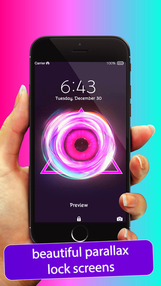 Parallax Wallpapers Backgrounds for iOS 8 - Motioned 3D themed moving screen gallery for iPhone 6 6