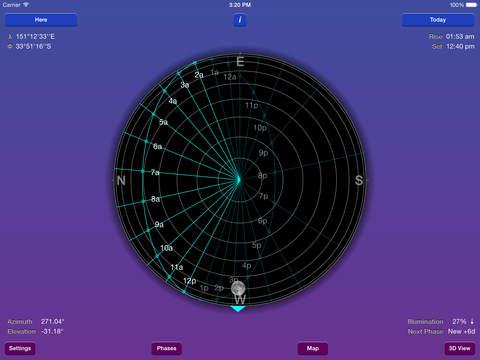 Moon Seeker iPad Screenshot 1