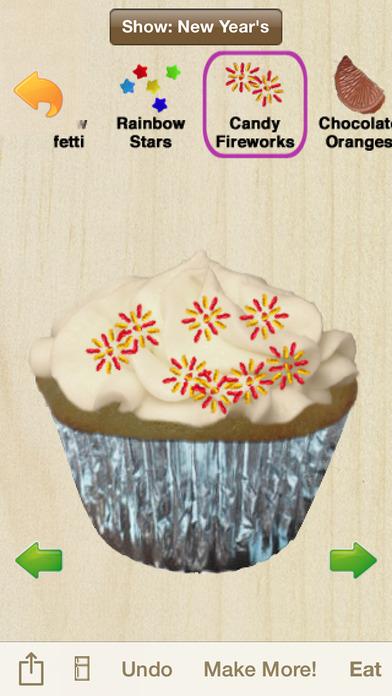 Cupcakes! Holiday Edition iPhone Screenshot 4