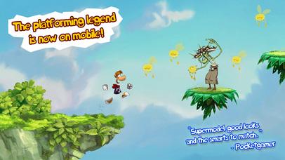 بازی محشر Rayman Jungle Run برای آیفون و آیپد - تصویر 1