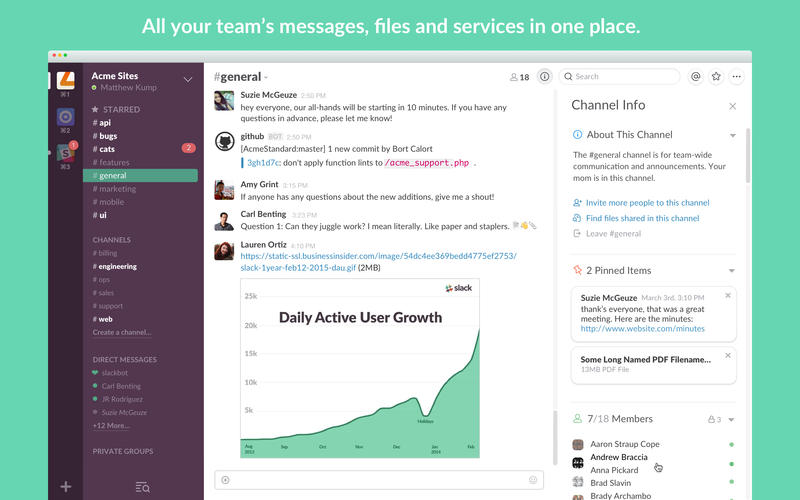 Slack Screenshot - 1