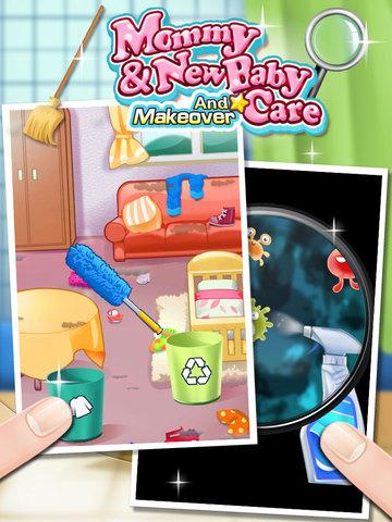 ipad screenshot 2 - Baby Room Cleaning Games