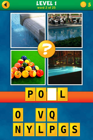 Screenshot 1 4 Pics 1 Word Puzzle: What's That Word?