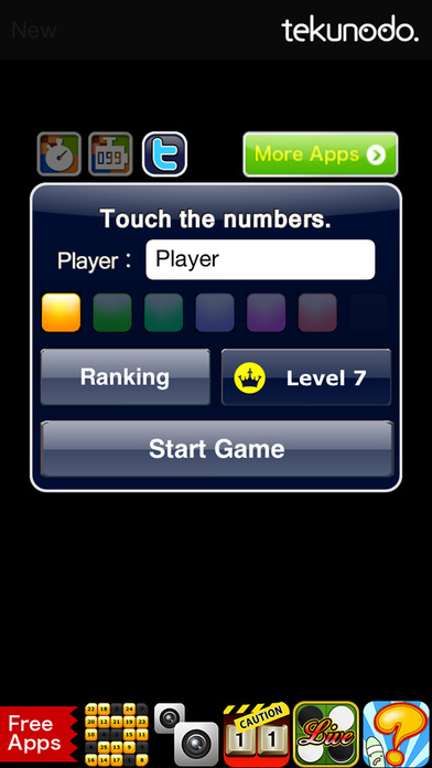 Touch the Numbers iPhone Screenshot 4