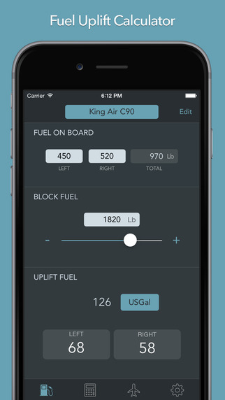 AvioFuel - Fuel Uplift and Payload Calculator