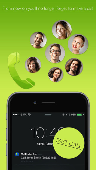 Call Later program calls to your favorite contacts