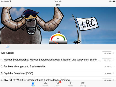 Funkschein LRC iPad Screenshot 2