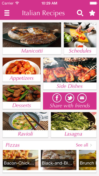 Italian Food Recipes - best cooking tips ideas meal planner and popular dishes