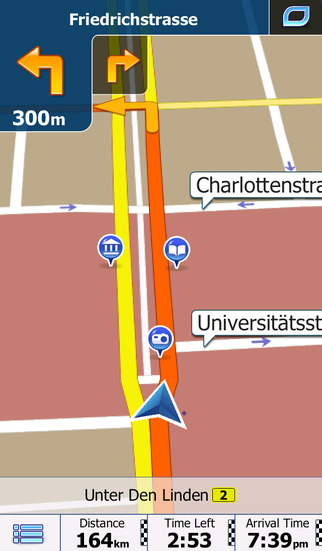 Western Europe - iGO primo app Screenshot 1