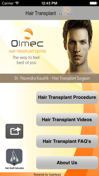 Hair Transplant Calculator