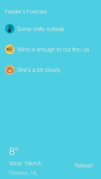 Fadder's Forecast