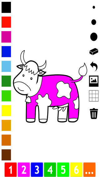 Animals Coloring Book for Colorful Children who love to paint