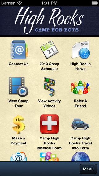 Camp High Rocks